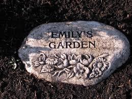 Emily's Garden Stone