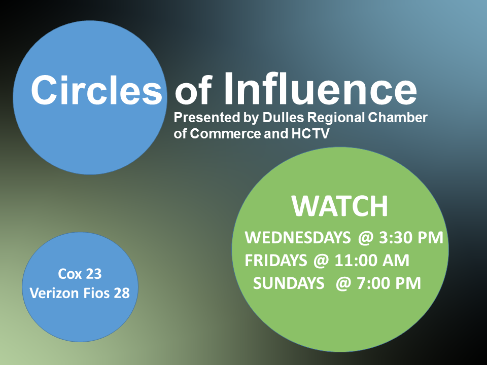 Presented by dulles regional chamber of commerce & HCTV