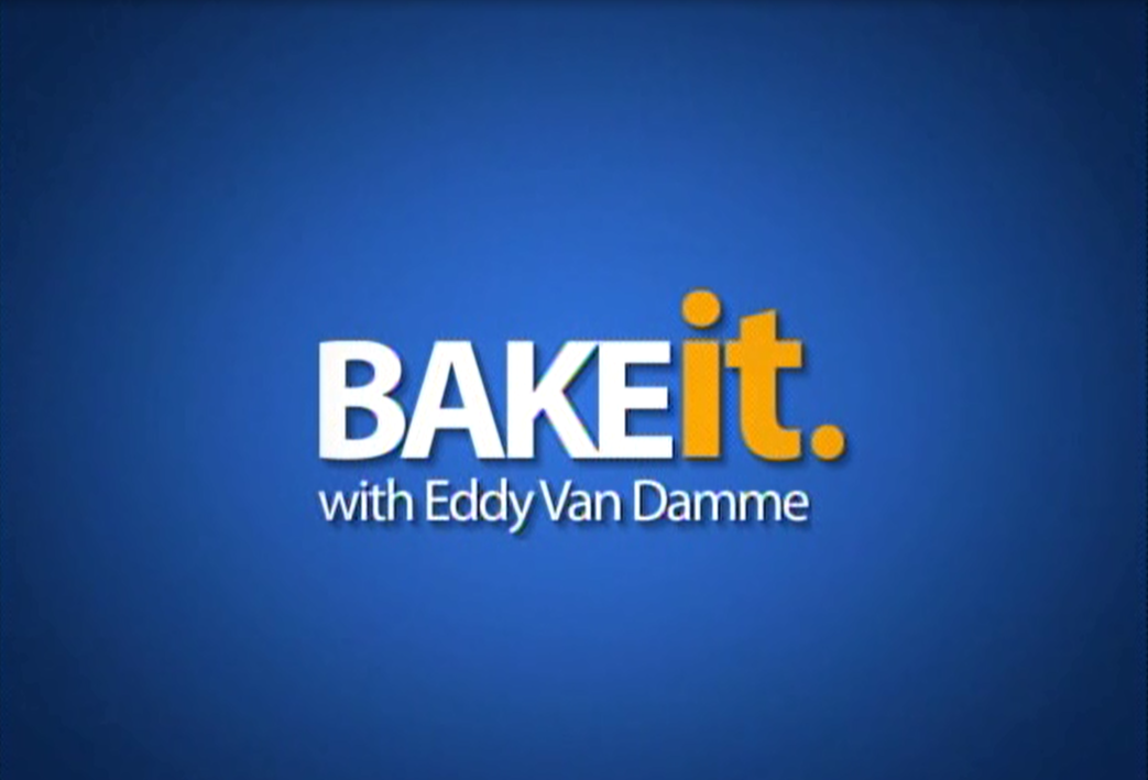 Bake it with Eddy Van Damme