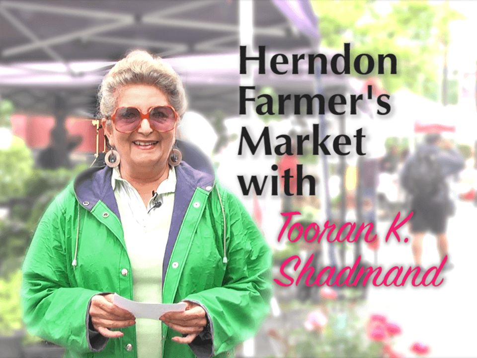 Herndon Farmer's Market with Tooran K. Shadman